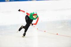 Sportif de skatig de vitesse Image libre de droits