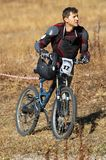 Sportif fatigué sur la course photographie stock libre de droits