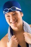 Sportif heureux Photos libres de droits