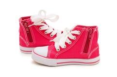 sportig isolerad sko Royaltyfria Foton