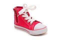 sportig isolerad sko Fotografering för Bildbyråer