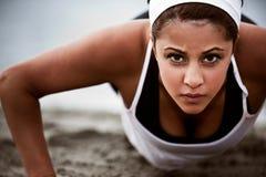 sportig kvinna Arkivbilder