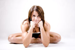 sportig kvinna royaltyfria foton