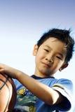 sportig pojke Arkivfoto
