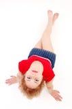 sportigt barn för flicka fotografering för bildbyråer