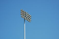 Sporting Arena Light. Over Hayward Field in Eugene, Oregon royalty free stock images