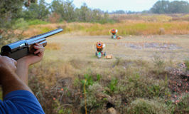 Sporting Clay Skeet Shooting Stock Photos