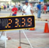 Sporting Event Timer Stock Image