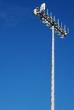 Sporting Field lights Stock Image