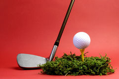 Sporting and Leisure pursuit, golf - horizontal. Royalty Free Stock Photos