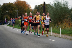 Sporting people in action. Royalty Free Stock Photos