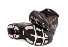 Sporting shoe. Of running shoe for going in for sports Royalty Free Stock Photo