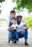 Sportive семья Стоковое фото RF