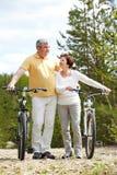 Sportive couple Stock Photos