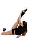 Sportive girl Stock Image