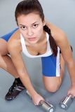 Sportive girl Royalty Free Stock Photography