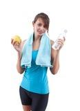 Sportive girl Stock Photos