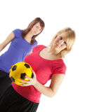 Sportive girls Stock Photos