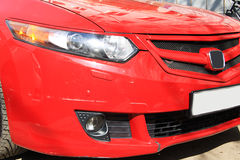 Free Sportive Honda Accord Red Racing Royalty Free Stock Photography - 55105007