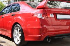 Sportive honda accord red racing Stock Photo