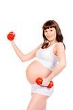 Sportive mother Stock Photos