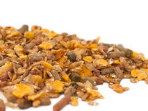 Sportive muesli background for horse . Stock Images