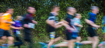 Sportive people in action Stock Photography