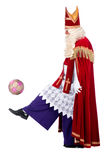 Sportive Sinterklaas Royalty Free Stock Images