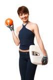 Sportive woman Royalty Free Stock Photo
