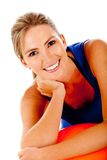 Sportive woman Stock Photos