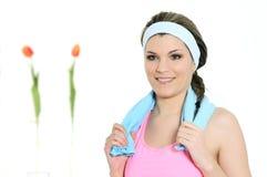 Sportive woman Royalty Free Stock Image