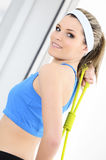 Sportive woman Stock Photography