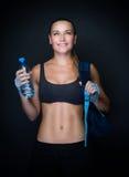 Sportive woman portrait Royalty Free Stock Photos