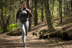 Sportive woman training Royalty Free Stock Photography