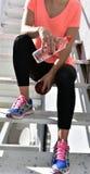 Sportives Mädchen Lizenzfreies Stockfoto