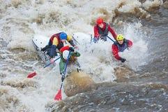 Sportivi dell'acqua nella soglia Immagine Stock Libera da Diritti