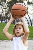 Sportivo teenager Fotografia Stock