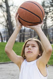 Sportivo teenager Fotografie Stock