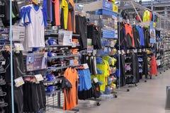 Sportkleidungsspeicher Lizenzfreie Stockfotos