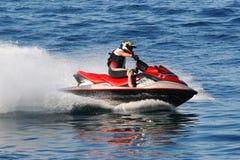 Sportkonkurrenz des Wasser-Motors Lizenzfreies Stockbild