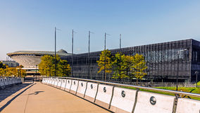 Sportkorridor Spodek Royaltyfri Foto