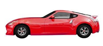 Sportkupee - Fantasiesuperauto auf Weiß Stockbild