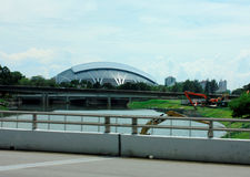 Sportkupol Singapore arkivfoton