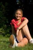 sportkvinna Arkivfoton