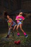 Sportkvinnor Royaltyfri Foto