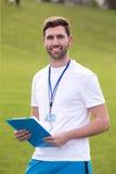 Sportlärare Royaltyfri Fotografi