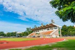 Sportleichtathletiklaufbahn Lizenzfreie Stockfotos