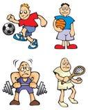 Sportler Lizenzfreie Stockfotos