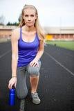 Sportliche Frau Lizenzfreies Stockbild