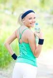 Sportliche Frau Lizenzfreie Stockbilder